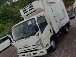 Isuzu Box Body Truck 3,0L 2013