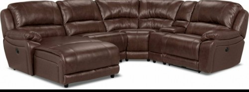 5 Pieces, Leather Sectional Couch/ Settee