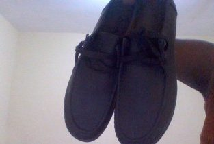 NEW MALE SHOES FOR SALE CALL 447-0948 SIZE 11