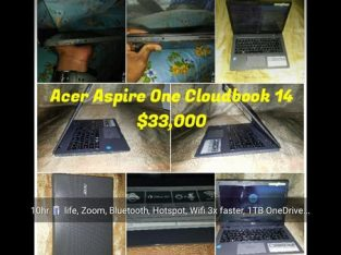 9/10 Factory Refurbished Acer Aspire 14. Battery Life 10hrs
