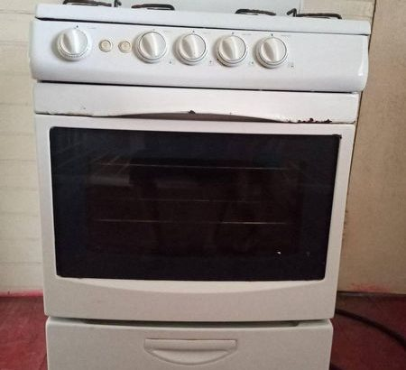 Selling 4 Burner Stove in (St. James). Has A Few Rost Spots And The Oven Not Working Properly