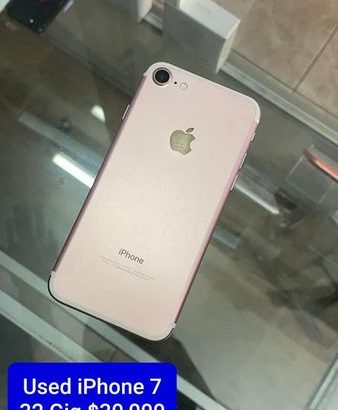 Used. IPhone 7 for sale. Call/whatsap 8763591617.Serious inquiries only !