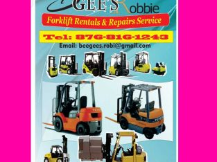Forklifts Sales, Rentals & Repairs
