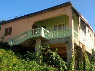 2 BED 1 BATH HOUSE FOR SALE IN SLIGOVILLE, ST. CATHERINE, JAMAICA