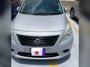 Nissan Latio 0,6L 2013
