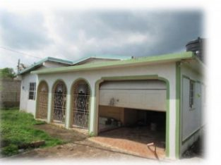 3 BED 2 BATH HOUSE FOR SALE IN SPANISH TOWN, ST. CATHERINE, JAMAICA