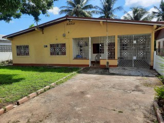 4 BED 2 BATH HOUSE FOR SALE IN 15 DONALD BOULEVARD, CLARENDON, JAMAICA