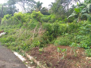 RESIDENTIAL LOT FOR SALE IN EWARTON, ST. CATHERINE, JAMAICA