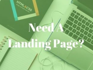 Need A Landing Page