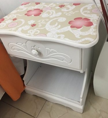 DOUBLE BED & Side Table