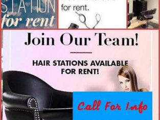 Hair And Nail Stations For Rent
